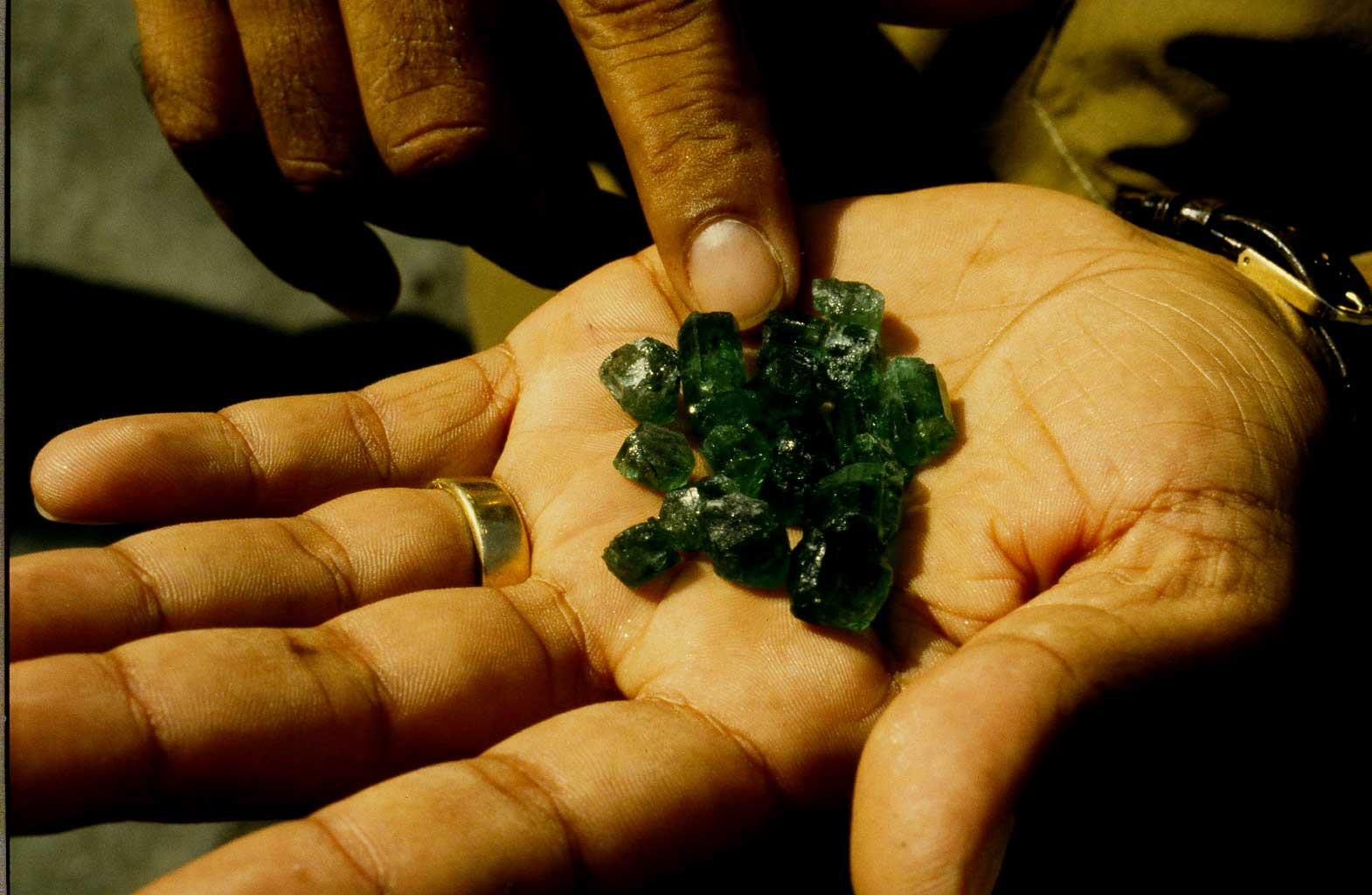 Smaragd Kristalle